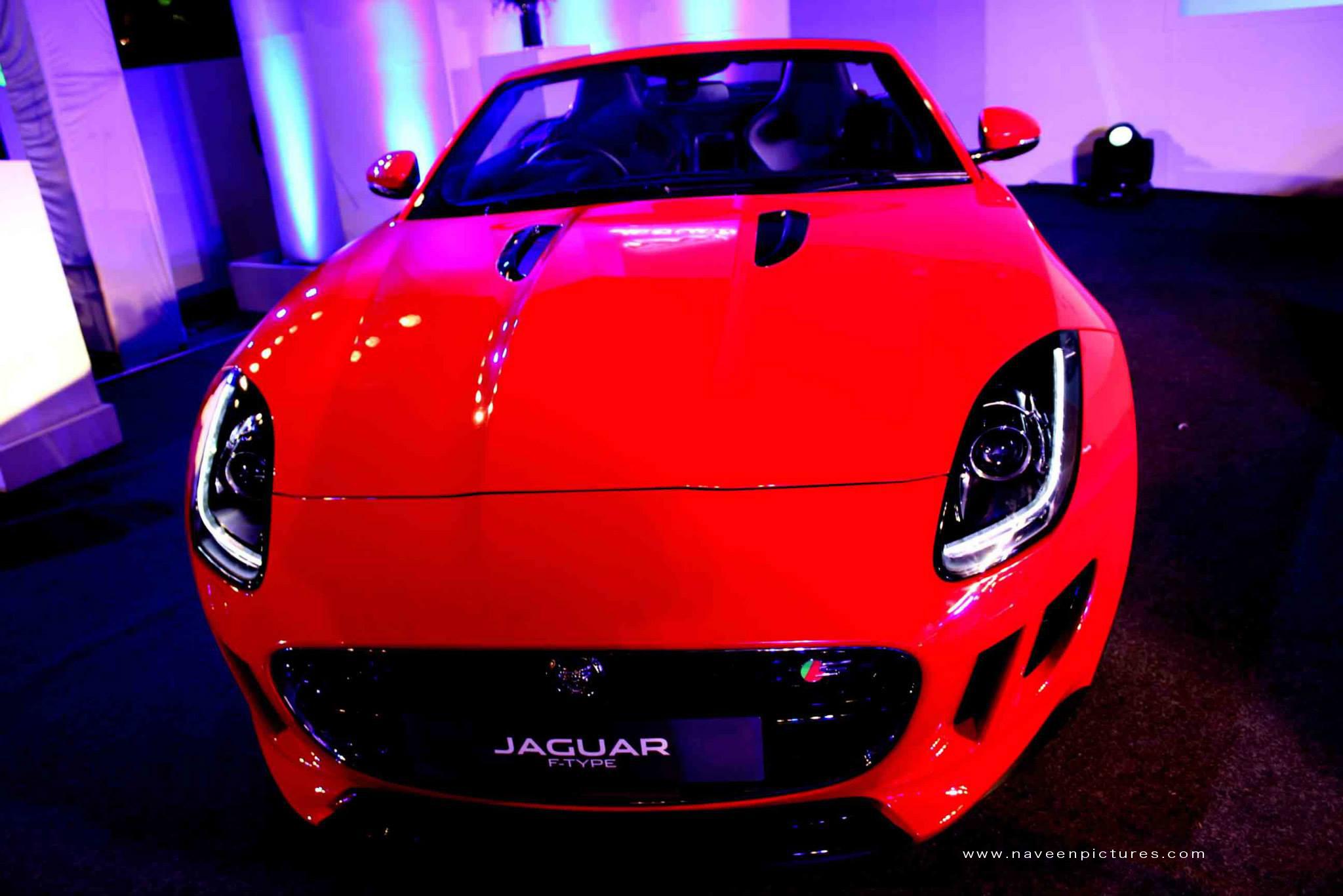 naveen picture event jaguar